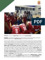 La afición del Moisés Ruíz rescata a un flojo Almería Basket - Almería Basket 66-64 Restaurante -El Chispa- Nerja Baloncesto