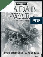 The Badab War Campaign (Dark Stars Version)