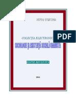 C.E. Sociologie Si Asistenta Sociala Umanista. Editie Revizuita, Petru Stefaroi