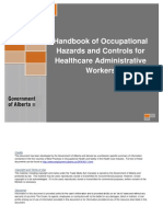 OHS WSA Handbook Healtcare Admin Workers