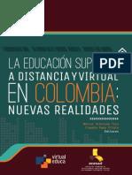 La Educacion Superior a Distancia y Virtual en Colombia Nuevas Realidades