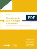 Financiamento para mitigação e adaptação