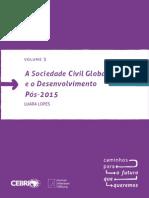 A sociedade civil global e o desenvolvimento pós-2015