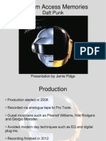 Daft Punk Random Access Memories Business Presentation