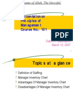 Presentation on MGT-Staffing