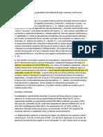Constituyentes fenólicos y propiedades antioxidantes de Hojas violaceum Xanthosoma