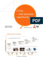 FTTH – New Business Opportunity