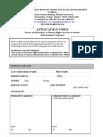 application form phd_2010