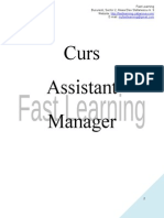 Curs Assistant Manager_Lectia 10