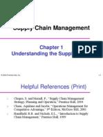 Understanding Scm Chapt. 01