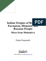 Indian Origins of Basque, Europ - Rangi Ranganath