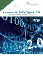 Osservatorio Italia Digitale 2.0 Executive Summary