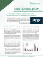 Cambodia Outlook Brief - No 1