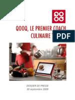 QOOQ Tablet Dossier de Presse 30 Sept 2009