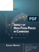 Impact of High Food Prices in Cambodia