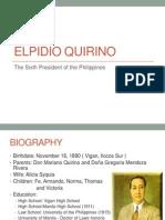 96765133 Elpidio Quirino