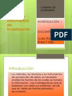 Instrumentos y Tecnicas de Inv.
