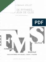 Jeux du rythmes … et jeux des cles 3