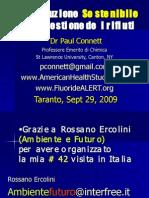 Paul Connett a Taranto 29 Settembre 09