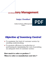 Inventory Management EOQ