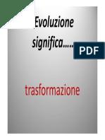 Teorie fissiste e introduzione all'evoluzionismo