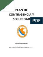 Plan de Contingencia y Seguridad 2013
