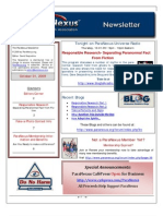 10012009 ParaNexus Newsletter
