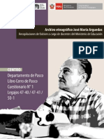 Libro Cerro de Pasco Legajos 47 40