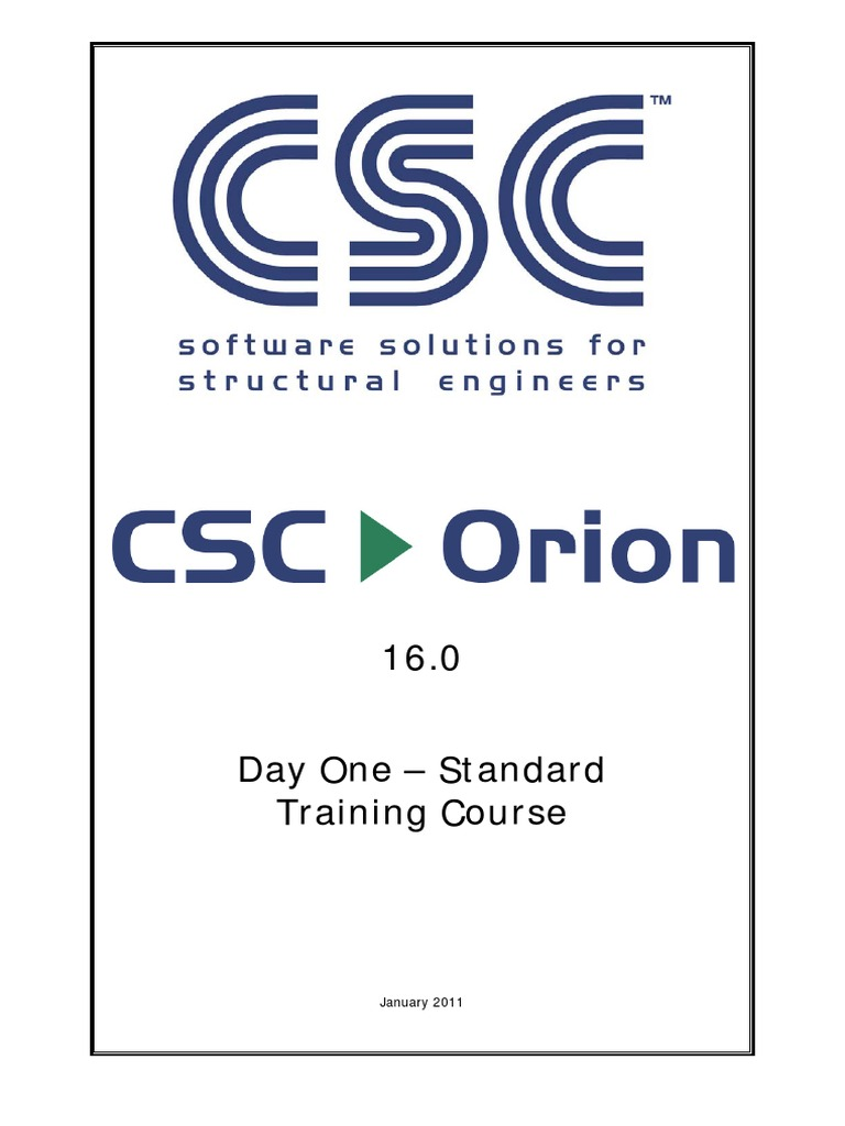 standard training manual csc orion cartesian coordinate system rh scribd com Training Manual Examples orion standard training manual pdf