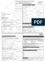 Medical Add Change Request Form
