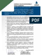 Política 2012 AESA - Actualizada