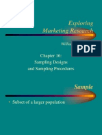 16-Sampling Designs and Procedures