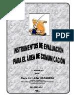 INSTRUMENTOS DE EVALUACIÓN FOLLETO RODE HUILLCA
