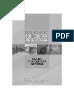 Pricipios de toxicología Veterinaria