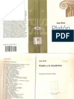 Platón y la Academia - Jean Brun