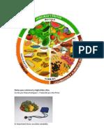 Dietas para colesterol y triglicéridos altos