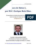 Bases de Datos I - M.C. Enrique Ruiz Díaz