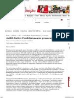 Revista Cult » Judith Butler_ Feminismo como provocação