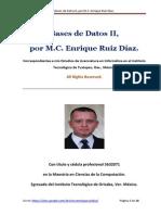 Bases de Datos II - M.C. Enrique Ruiz Díaz