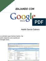 Trabajando Con Google Docs