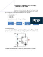 Traffic Light Control System Using 4017 Counter and 555 Timer