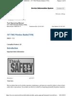 317-7492 Wireless Radio - Tool Operating Manual
