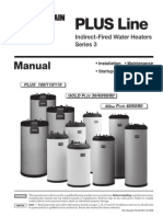 Indirec Fired Water Heater Plus Indirect Fired Water Heater Manual