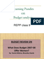 Budget Consolidated Revised
