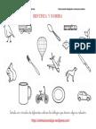 Coleccion de Fichas Identifica y Nombra Color y ByN