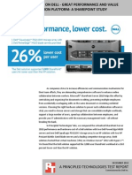 Windows Server 2012 on Dell - Great performance and value for the next generation platform