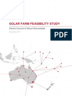 Solar Farm Feasibility Report