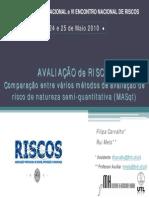 Filipa Carvalho Avaliacao de Risco Comparacao Entre Varios Metodo