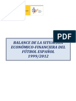 Balance Economico Futbol Primeraysegunda