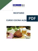 Recetario Curso Cocina Alemana 19005.02